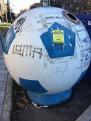 Football bin